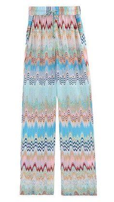858ba6a895 Missoni Mare beach pants Summer Pants