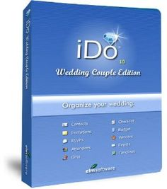 Amazon.com: IDo Wedding Couple Edition: Wedding Planning Software for Brides and Grooms: Software