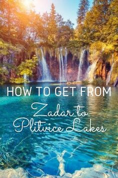 How to get from Zadar to Plitvice Lakes is a common question. Luckily, getting from Zadar to Plitvice Lakes National Park is easy in Croatia Travel Guide, Europe Travel Tips, Travel Destinations, Travel Guides, Travel Couple, Family Travel, Plitvice Lakes National Park, Visit Croatia, Seen