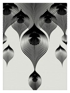 Animals Drawn with Moire Patterns6
