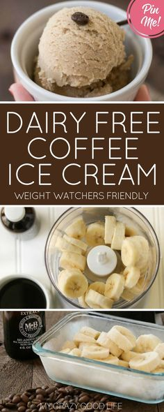 Dairy Free Coffee Ice Cream Recipe | Gluten Free | My Crazy Good Life