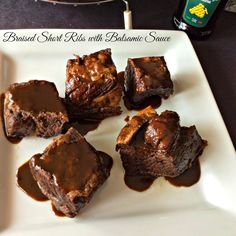Cooking On A Budget: Braised Short Ribs with Balsamic Sauce