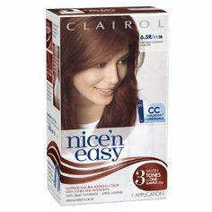 Clairol Nice 'N Easy Hair Color 112 B Natural Radiant Auburn 1 Kit (Pack of -- Learn more by visiting the image link. (This is an affiliate link and I receive a commission for the sales) Hair Color Shades, Cool Hair Color, Hair Colour, Best Hair Dye, Neutral Blonde, Hair Color Auburn, 50 Hair, Hair Color For Women, Color Kit