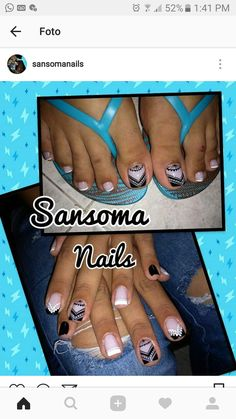 Toe Nail Art, Toe Nails, Pedicure Nails, Manicure, Purple And Pink Nails, Beauty Nails, Hair Beauty, Diva Nails, Nail Candy