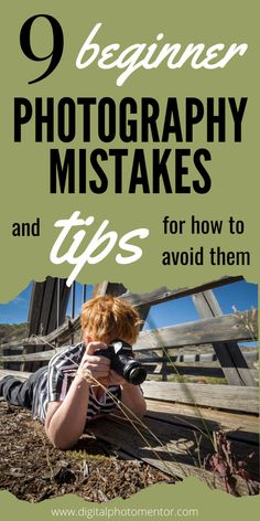 Beginner photography tips for helping the new photographer eliminate common mistakes. Learn to take better photos, understand aperture, get super sharp images every time and knowing how all the buttons on your camera works. Tips apply to users who shoot Canon, Nikon, Sony, Fujifilm or any other. Depth of field, white balance. Great beginner photography tutorial for newbies.  #beginnerphotography #beginnerphotographytips #beginnerphotographytutorial #beginnerphotographyarticle