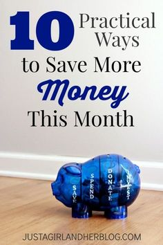 10 strategies everyone can implement to start saving money NOW! | JustAGirlAndHerBlog.com money saving tips