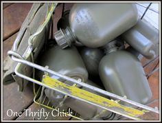 Frugal Adventures with One Thrifty Chick: Army Birthday Party