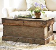 Pottery Barn Trunk #cool