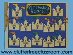 Miss Kindergarten: Beach Themed Room Decor