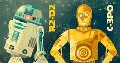 ...R2-D2    C-3P0