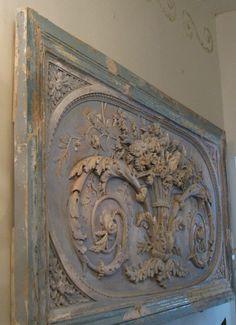 Country French Antiques: pensée à la neige www.MadamPaloozaEmporium.com www.facebook.com/MadamPalooza