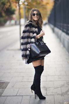 FAUX FUR COAT WEATHER - Lovely Pepa by Alexandra