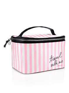 VS Stripe Train Case