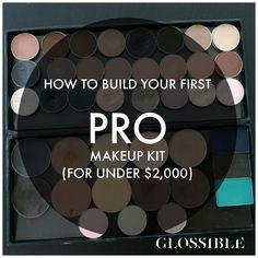 How to build a pro makeup kit
