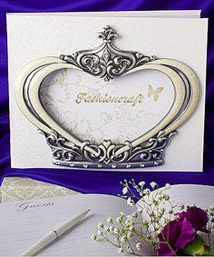 Royal Wedding Collection Grown Design Wedding Guest Books