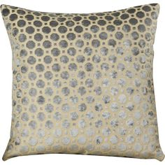 A fine blend of fashion and function, The House of Hampton  Geometric Pillow makes for a valuable addition to any bedroom. It sports a geometric pattern that combines large, distinct octagons with small, subtle squares across its entire surface. This mesmerizing visual delivery is employed across a wide variety of shades, making it compatible with the interiors of virtually any household. <br/><br/>Made from a soft, velvety material, the Geometric Pillow from House of Ha...