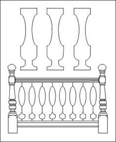 how to make flat sawn balusters