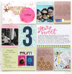 Picture 1 of Mothers Day spread by natalieelph