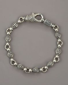 Paganini Cross Chain Bracelet by Konstantino at Neiman Marcus.