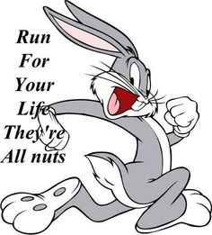BUGS BUNNY, I used to have this as a sticker on my truck!