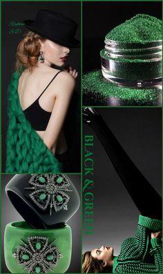 '' Black & Green '' by Reyhan S.D.