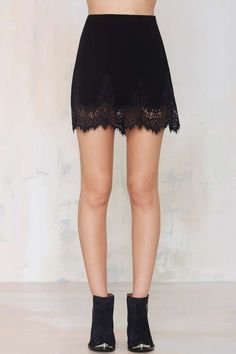 Sweet Stuff Skirt - Black - Clothes | All | Skirts