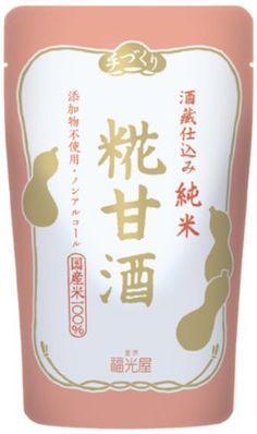Amazon.co.jp: 福光屋 酒蔵仕込み 純米 糀甘酒 150g×20袋: 食品・飲料・お酒 通販