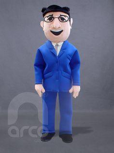 Botarga de Candidato Político PAN Rubén Mendoza ¡Conoce más botargas de partidos políticos y figuras humanas aquí! http://www.grupoarco.com.mx/venta-de-botargas/botargas-de-figuras-humanas-en-mexico/