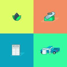 Iconos sobre la historia del gas en #Venezuela / History of natural gas in Venezuela in icons (part 1) #wip #iconography #vectorillustration #bestvector #thedesigntip #illustrator #creative #dailydesign #gnv #gas #dribbble #behance #iconaday #graphicroozane #designer by joomaag