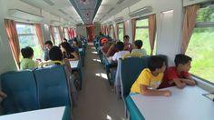 Trem é o único entre estados com viagem de passageiros