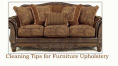 Cleaning Tips for Furniture Upholstery by Renee Cozzette via slideshare