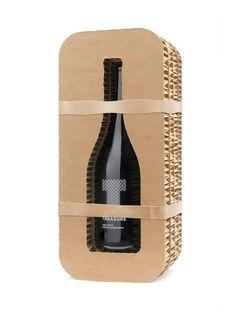 Crusoe Treasure Wines packaging design