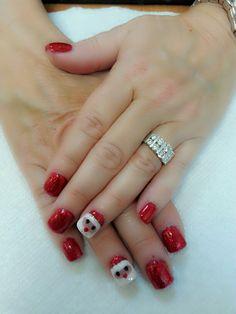 Santa nails design