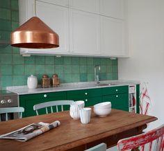 Une touche de couleur dans la cuisine – Cocon de décoration: le blog