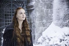 """Framed Game of Thrones - Sansa Stark """"Winter is Coming"""" Stretched Canvas Art Print 24""""x36""""x1.5"""""""