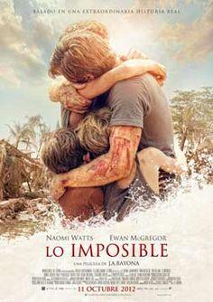 Ya puedes participar en el Sorteo de entradas para ver el estreno de Lo Imposible en los Cines Cinebox de Ourense.