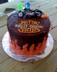 The cake I made for dads birthday Birthdays Pinterest