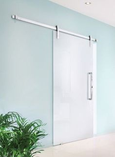 Contemporary barn doors