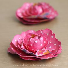 Making Paper Peonies