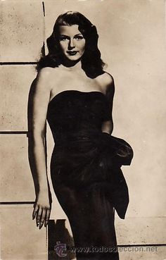 POSTAL Rita Hayworth in GILDA - PCA