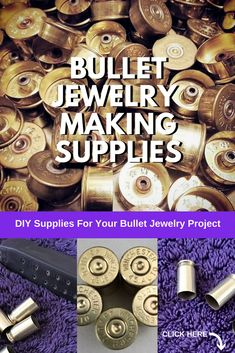 If You Love Bullet Jewelry And Ammo Crafts - Then You'll Love All These Hand Polished Shell Casings And Shotgun Shells. Void Bullet Casings, Brass Shells Ammo, Rounds, Diy Jewelry Craft Making, Bullet Shell Jewelry, Bullet Casing Jewelry, Bullet Earrings, Bullet Ring, Shotgun Shell Jewelry, Bullet Art, Bullet Casing Crafts, Bullet Crafts, Ammo Crafts