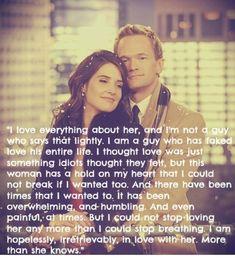 Barney und Robin sind einfach ein Traumpaar Zitat von : Barney Stinson