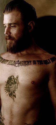 Ryan Hurst--Opie. :-)
