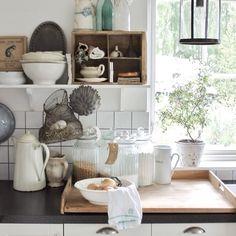 Vicky's Home: Decorar una cocina al estilo campestre / Decorate a country style kitchen