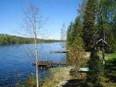 Heinolassa Jyrängöllä Ruotsalaisen järven rannalla.