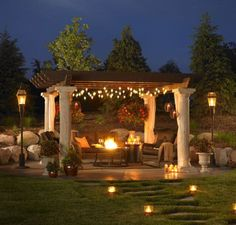 Exterior, Catalog Stunning Pergola Designs to Shade Seating Areas : Pergola Designs Illars And Wooden Trellis This Pergola Is A Perfect Roma...