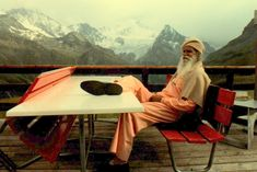 """Swami Satchidananda (December 22, 1914 – August 19, 2002), born as C. K. Ramaswamy Gounder, was an Indian religious teacher, spiritual master and yoga adept, who gained fame and following in the West during his time in New York. He was the author of many philosophical and spiritual books, including a popular illustrative book on Hatha Yoga."""" [Wkipedia]"""