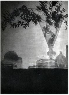 photo by Baron Adolph de Meyer, Glass and Shadows, 1912