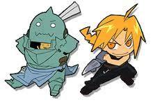 Fullmetal Alchemist - Edward and Al