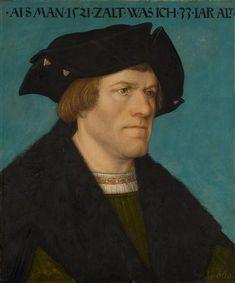 Portrait of a Beardless Man, Hans Maler, 1521